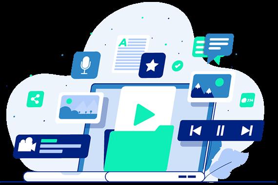 Servicii content marketing prima pagină