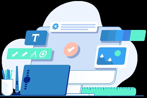 Servicii web design pentru prima pagina